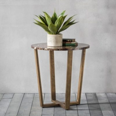 emperor round side table meath