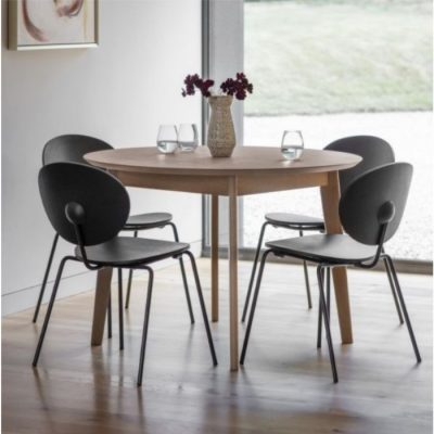 forden round dining table grey meath