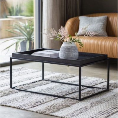 forden tray coffee table black meath