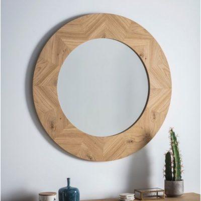 milano round mirror meath