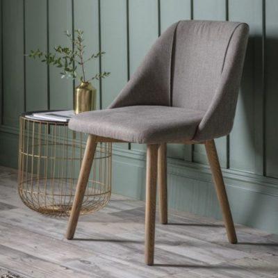 elliot dining chair slate grey meath