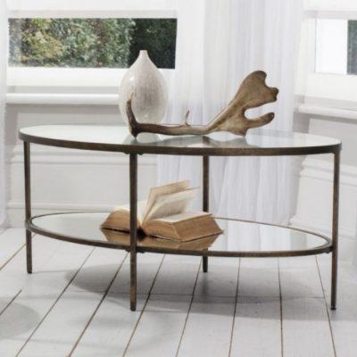 hudson coffee table bronze meath
