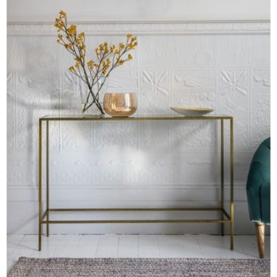 rothbury console table bronze meath