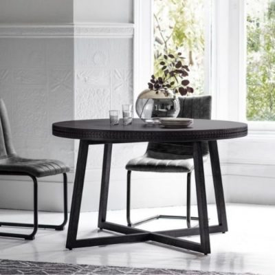 boho boutique round dining table meath
