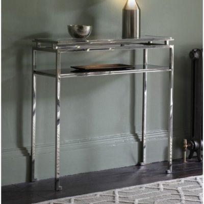 cosenza console table silver meath