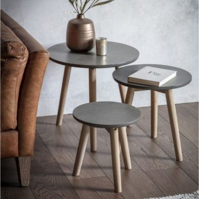 bergen Nest of 3 Tables meath