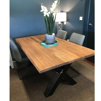 Palermo Rustic Oak Dining Table meath