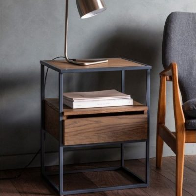 balham side table smoked meath