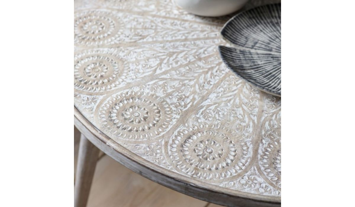 agra coffee table top white meath