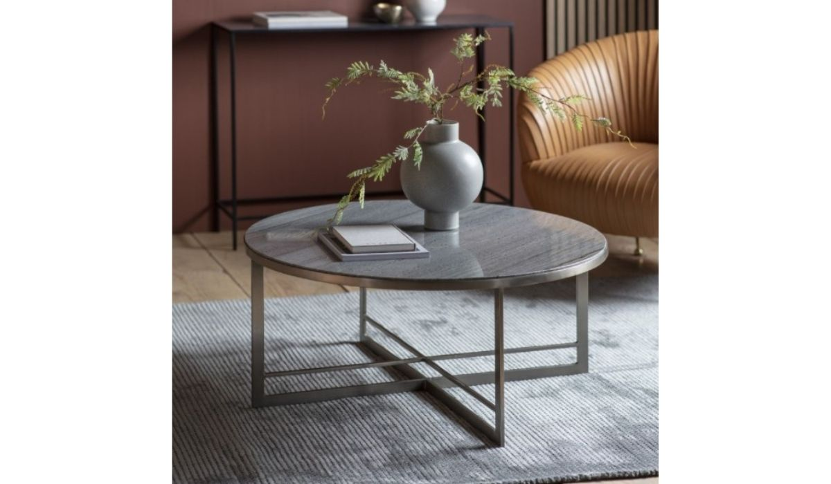 necton coffee table silver meath