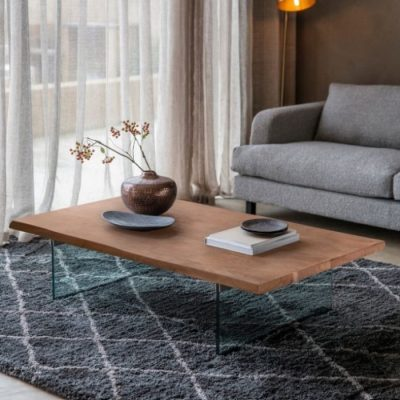 FERNDALE COFFEE TABLE WITH GLASS LEGS meath