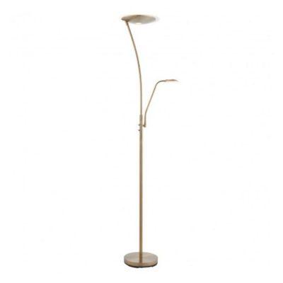 Alassio Floor Lamp antique brass Meath