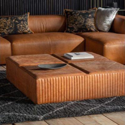 Barham Slab Brown Leather Meath