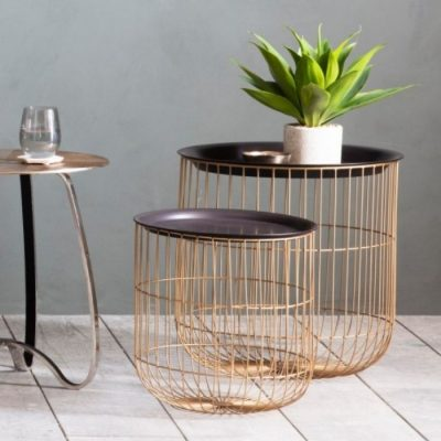 woburn side tables nest of 2 Meath